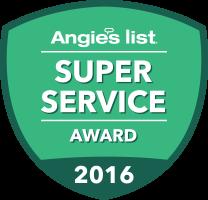 angie's super service award icon